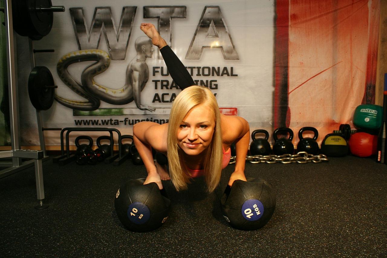 kobieta-trening